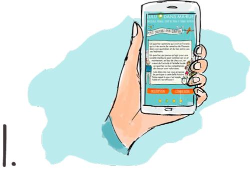 Faites appel à un Lulu via notre site, notre application, par téléphone ou dans nos kiosques