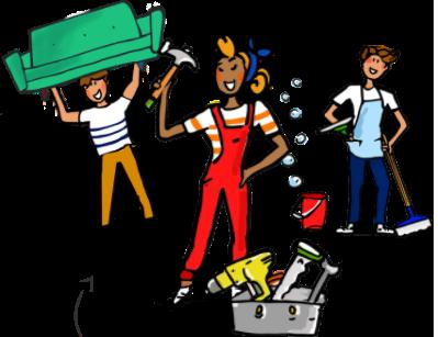 Ménage, bricolage, déménagement… Les Lulus vous rendent mille services