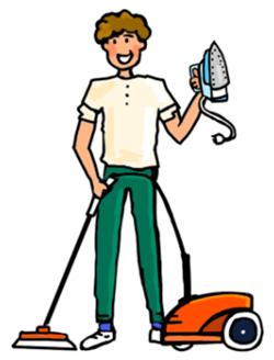 Ménage : nettoyer votre appartement, faire du repassage, les vitres
